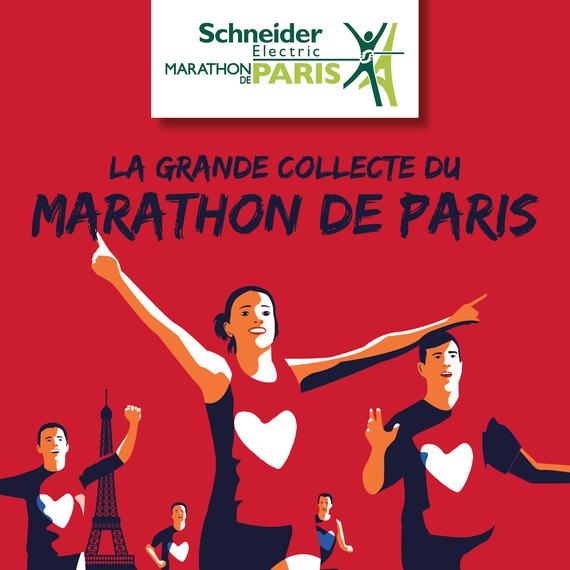 The Grande Collecte of the SE Marathon de Paris 2021