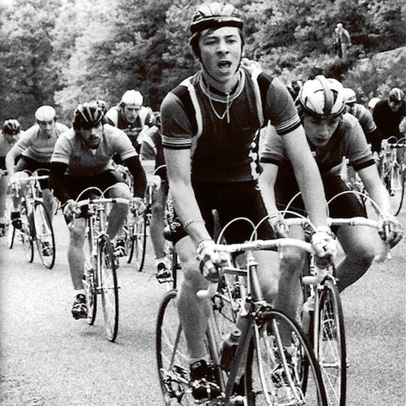 Stéphane et le tour de France pour Mécénat Cardiaque