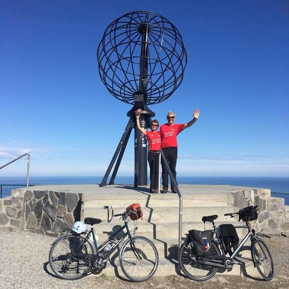 Voyage à vélo pour un coeur nouveau ... Objectif : Cap Nord