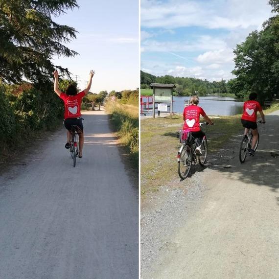 Les 3 Breizhettes parcourent la Loire pour un nouveau cœur