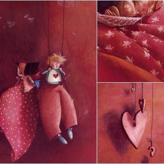 En forme de coeur