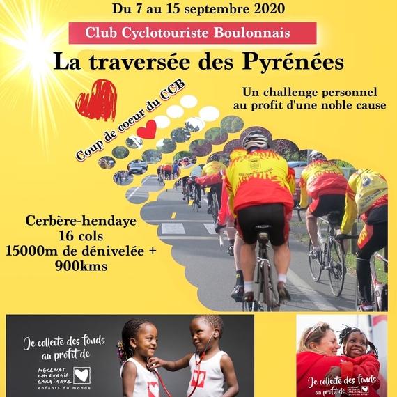 La Traversée des Pyrénées pour un coeur