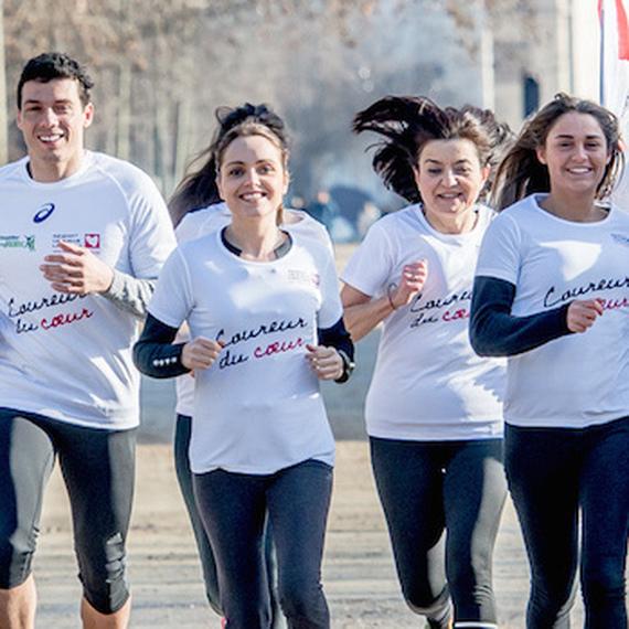 Marathon solidaire : courons en coeur