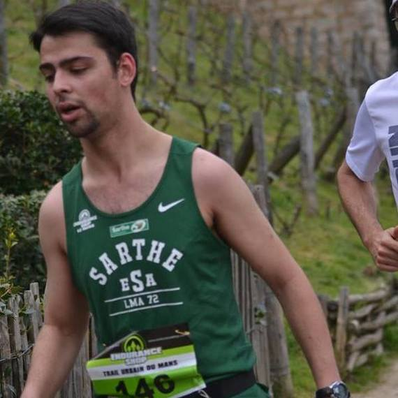 Un marathon, une passion, une cause avec Corentin