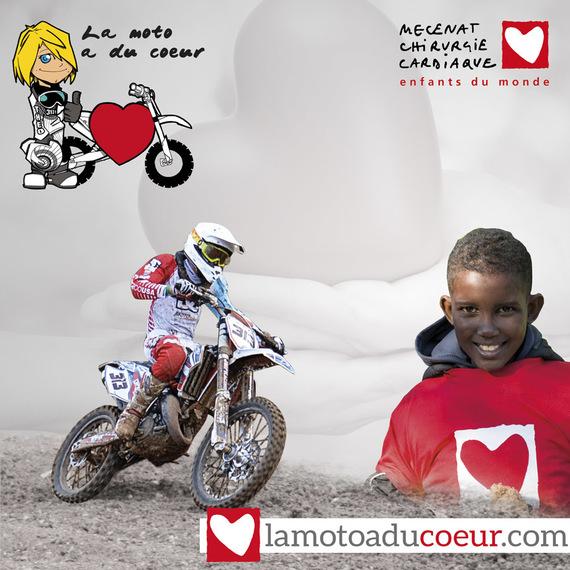 La Moto a du Coeur