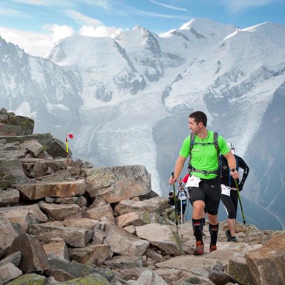 Courir pour la Mont-Blanc du Coeur